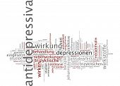 foto of antidepressant  - Word cloud  - JPG