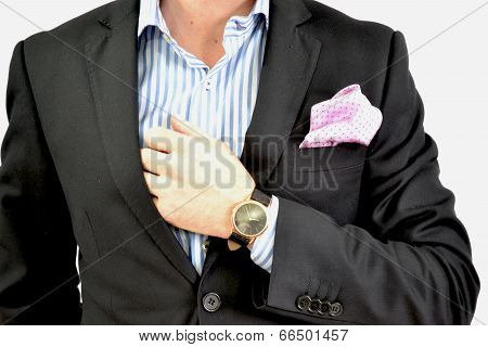Man with formal attire