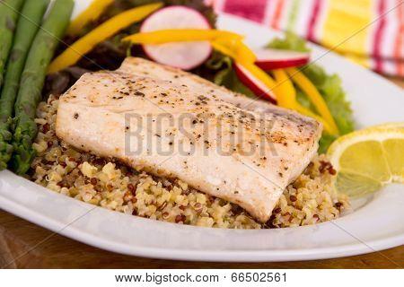 cooked mahi mahi fish fillet