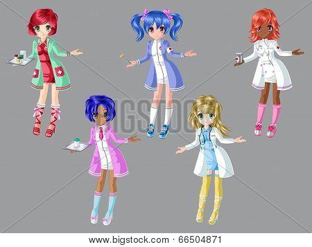 Doctor Girl Dress Up