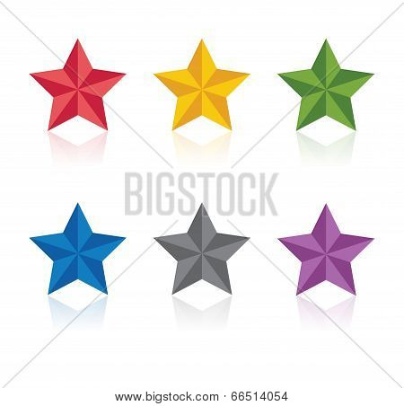Stars. Vector illustration.