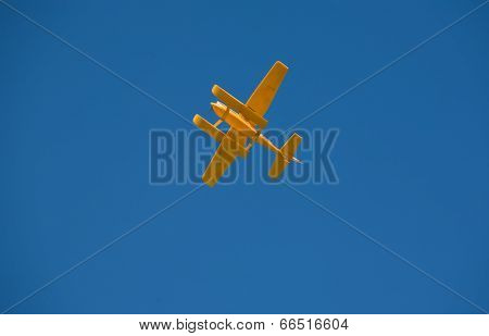 Yellow Rc Hydroplane