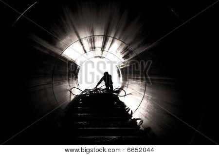 Industrial Worker Silhouette