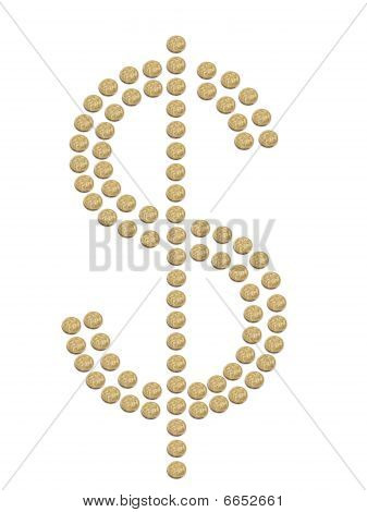 Signo de dólar australiano