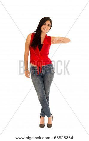 casual full length woman
