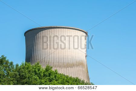 Concrete Cooling Tower Of A Power Plant