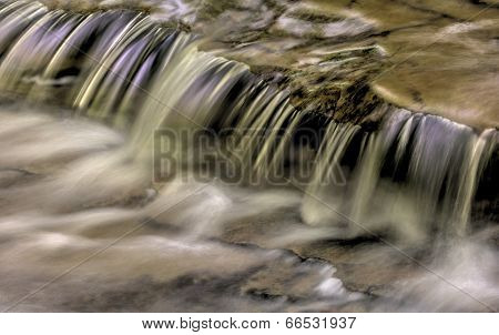 Cascading Water Abstract