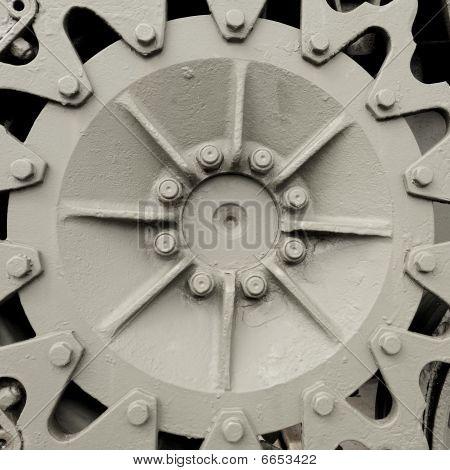 Industrial hubcap gear