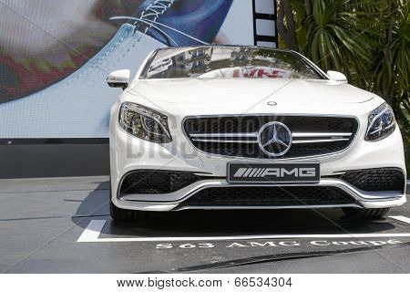 Exterior Design Of Mercedes S63 Amg Coupe