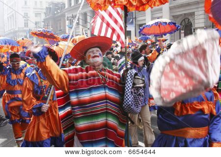 Mummers Parade, New Years Day 2010