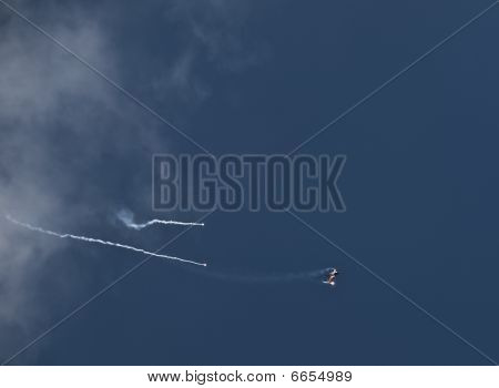 Rnlaf  F-16 Fighting Falcon On Afterburner