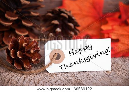 Happy Thanksgiving Greetings poster