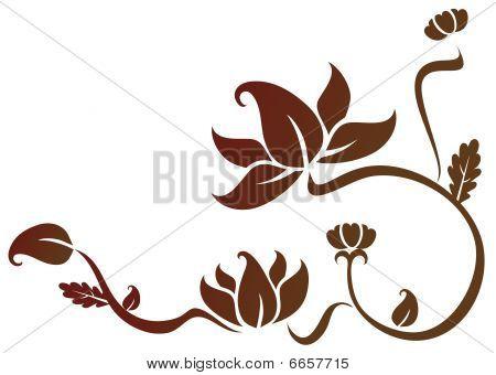 Lotus-Muster