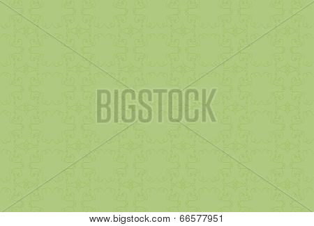 light green background with green pattern.