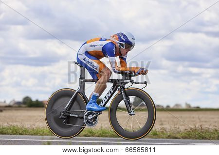 The Cyclist Steven Kruijswijk