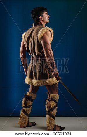 handsome gladiator