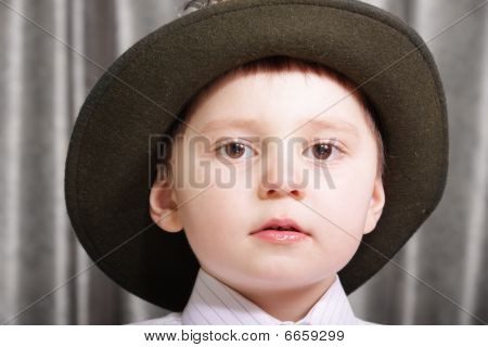 Little Boy In Hat
