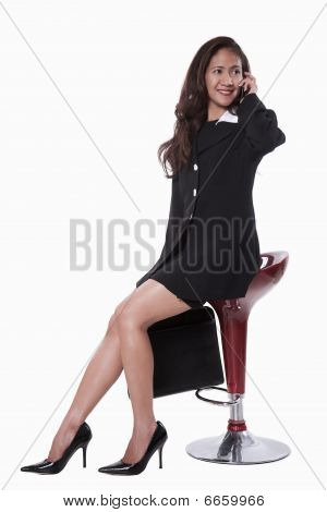 Young Attractive Thirties Asian Businesswoman