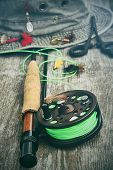 pic of fly rod  - Fly - JPG