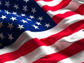 picture of veterans  - background og usa flag old glory - JPG