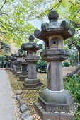picture of shogun  - Toshogu Shrine at Ueno Park in Tokyo - JPG