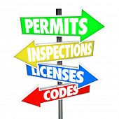 stock photo of inspection  - Permits - JPG