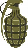 stock photo of grenades  - grenade arms vector illustration clip - JPG