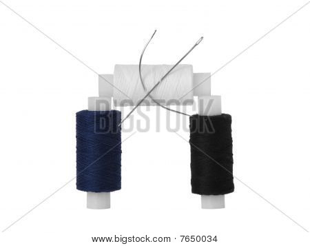 Coils With Threads And Needles