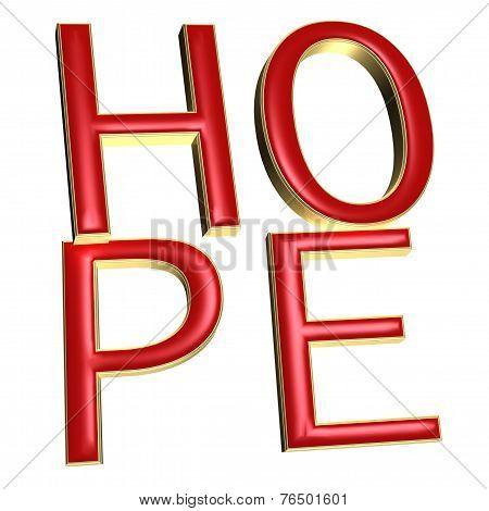 Three-dimensional Word Hope