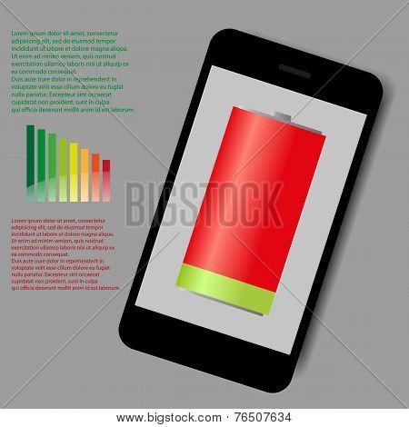 smart phone low energy vector