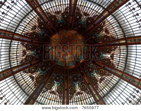 Parisienne Lafayette Gallery's Sumptuous Glazed Roof