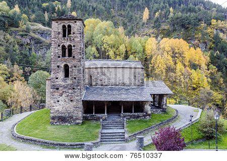 Sant Joan De Caselles In Canillo, Andorra
