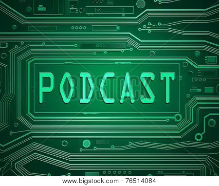 Podcast Concept.