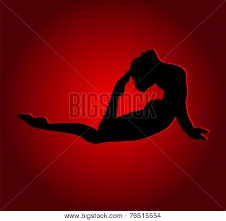 Flexible Dancing Girl