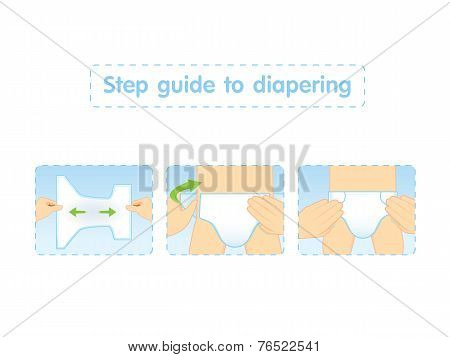 Step Guide To Diapering