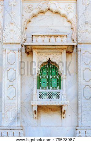 Closed Window Of  King's Memorials, Jaswant Thada