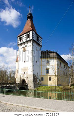 Castle Blatna in west south Czech Republic
