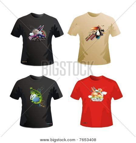 shirts vector design
