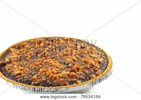 Chocolate Butterfinger Pie