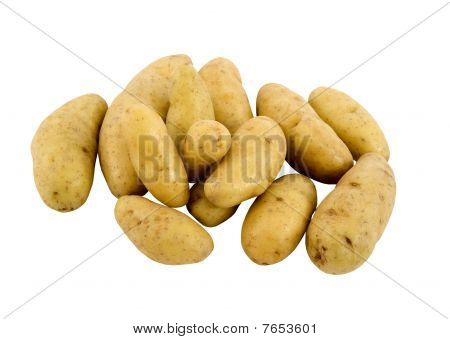 fresh fingerling potatoes