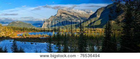 Vermillion Lake and Randle Mountain