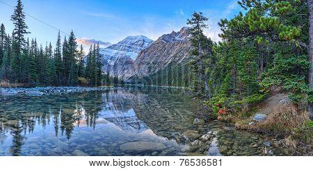 Cavell Edith Lake