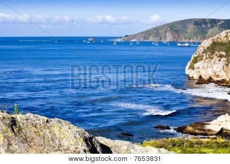 Avila Bay Cliffs And Port San Luis