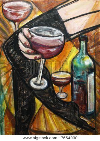 Red Wine Boudoir