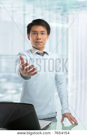 Young Chinese Businessman