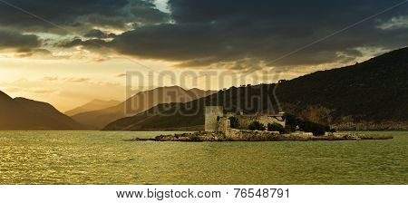 Old Island on Adriatic sea