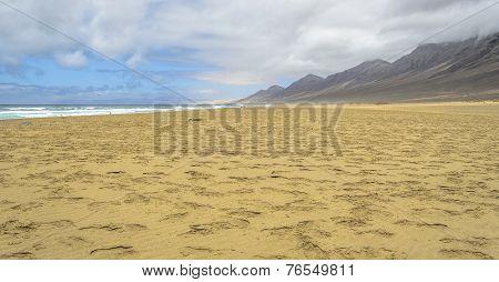 Cofete Beach In Fuerteventura, Canary Islands