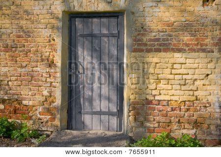 Door Closed On The Lock
