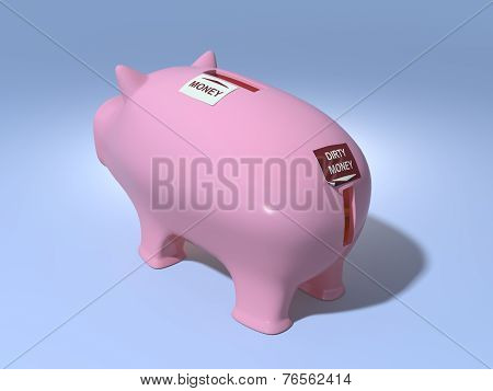 Piggy bank for fraud