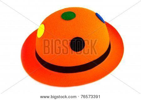 Orange Carnival Hat